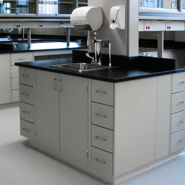 Cabinets de laboratoires peinture électromagnétique