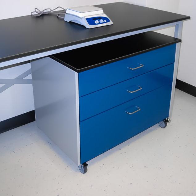 Cabinet de laboratoire peinture électromagnétique